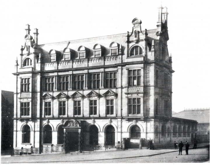 Preston Head Post Office, Market Place ~ Opening Day 24 August 1903