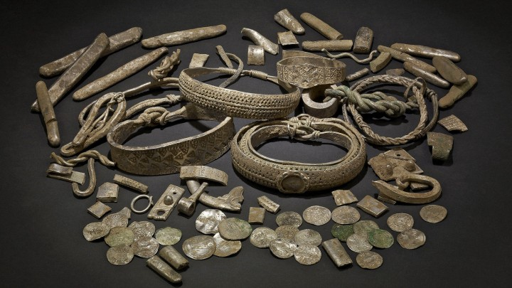 Silverdale hoard was discovered in Lancashire in 2011
