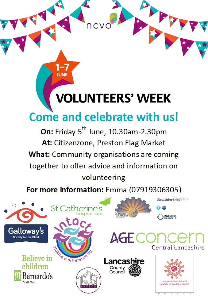 Volunteers Week Poster