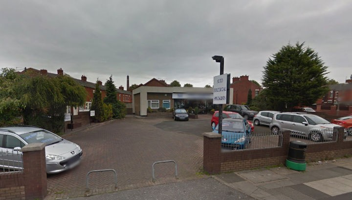 A car showroom could be demolished to make way for the health centre