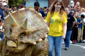 Dinosaurs at the Lancashire Science Festival