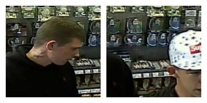 two men caught on camera following maplin theft at capitol. Black Bedroom Furniture Sets. Home Design Ideas