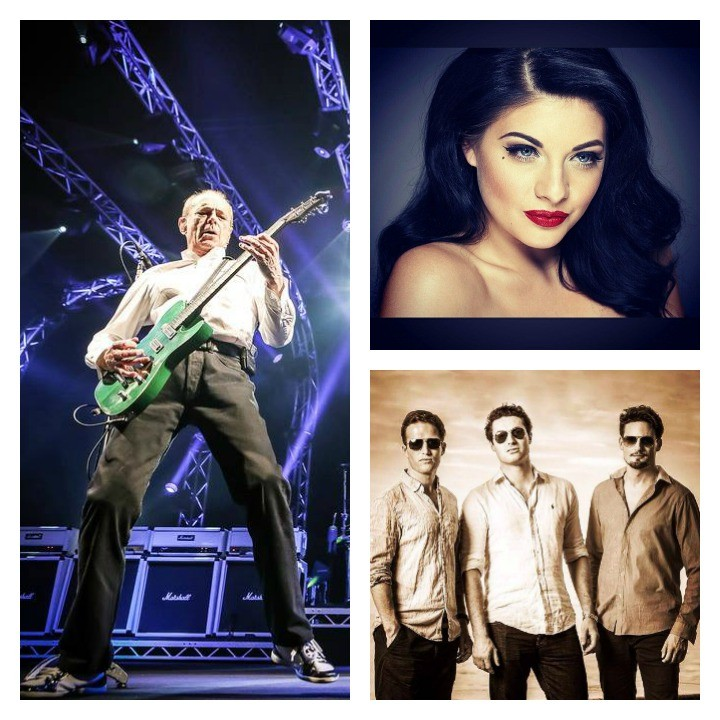 Status Quo, Lucy Kay and Blake will play the Symphony at the Tower concerts