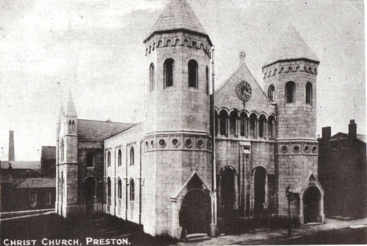 Christ Church, Fishergate Hill, Preston - Pic: Preston Digital Archive