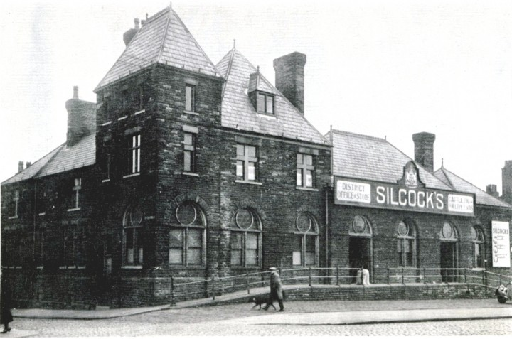 Former West Lancashire Railway Station, Fishergate Hill Preston - Pic: Preston Digital Archive