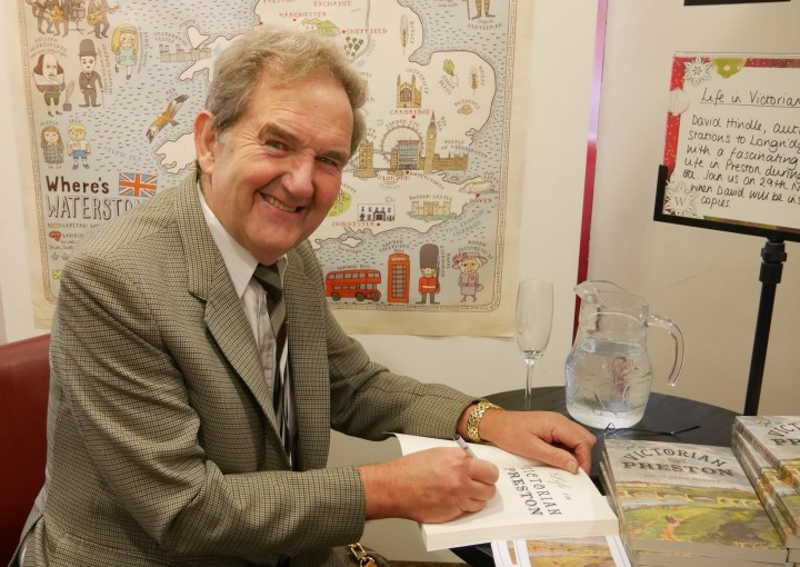 David John Hindle, historian and renowned author of books concerning Preston's great history