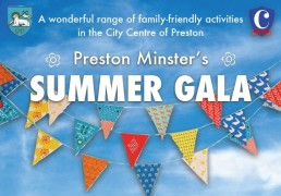 Preston Minster Summer Gala Feature Image