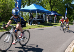 Cyclists will take on the Avenham Park route Pic: Tony Worrall