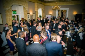 The black tie ceremony at Lancashire Business Awards