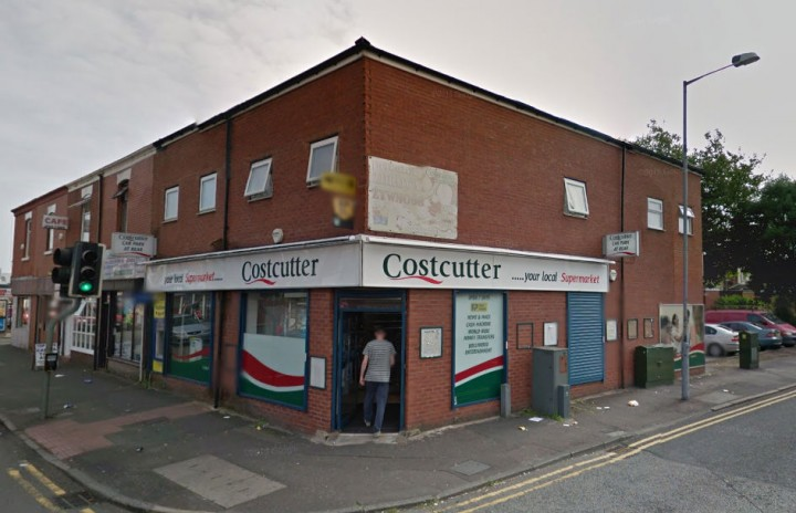 The Cost Cutter shop stands on the corner of Ribbleton Lane and Skeffington Lane Pic: Google