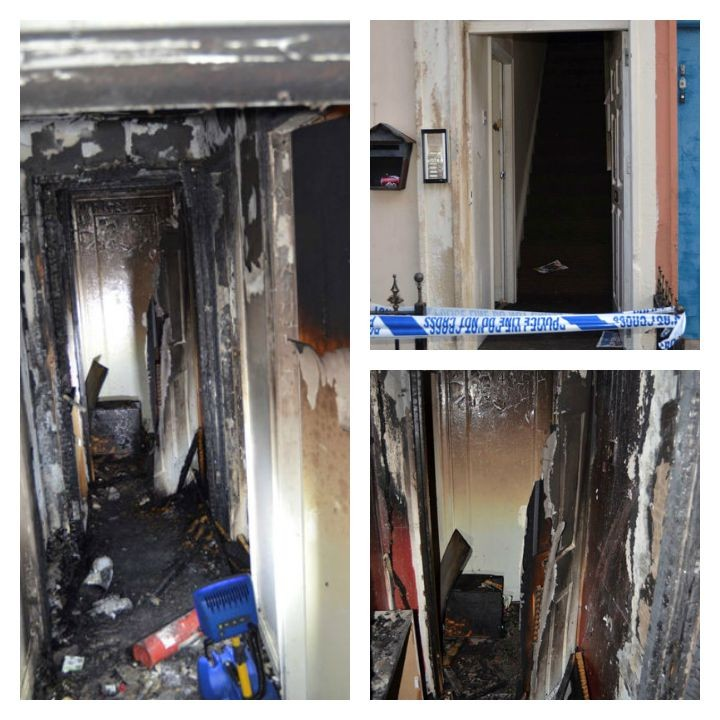 The fire caused significant damage to the building