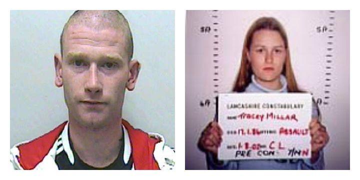 Mark Speariett, left, and Tracey Millar, right