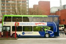 Preston Bus has announced the fare-free hour Pic: Gary Bond