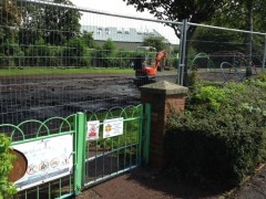 Work begins on Euston Street play area