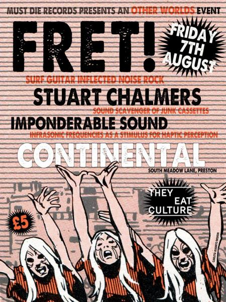The three acts will perform at the New Continental on Friday August 7