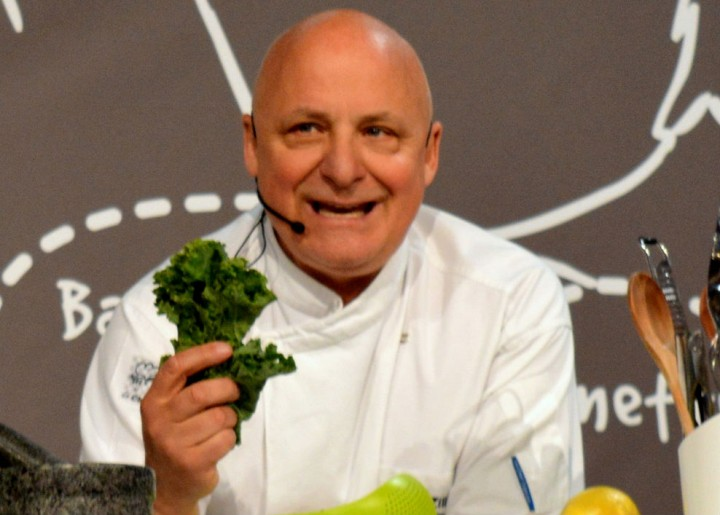 Aldo Zilli could pop up at your restaurant table Pic: Tony Worrall