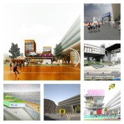 Some of the entries in the Bus Station competition