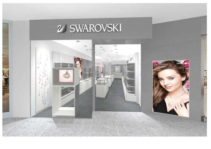 A Swarovski store is coming to St. George's Shopping Centre