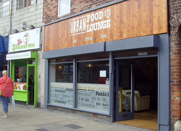 Urban Food Lounge on Friargate. Credit: Tony Worrall