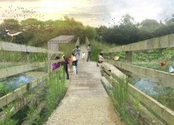 How the Grimsargh Wetlands may look once the nature reserve is created