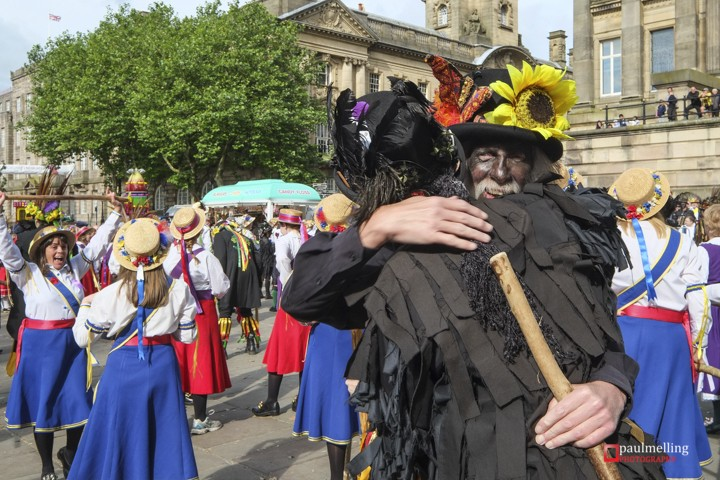 Morris Dancing groups from across Britain came together in Preston, Lancashire to set a new Guinness World Record for the greatest number of Morris Dancers performing one dance. 145 dancer beat the previous record on Preston's historic Flag Market. The previous record stood at 88 dancers and was set in 1999.