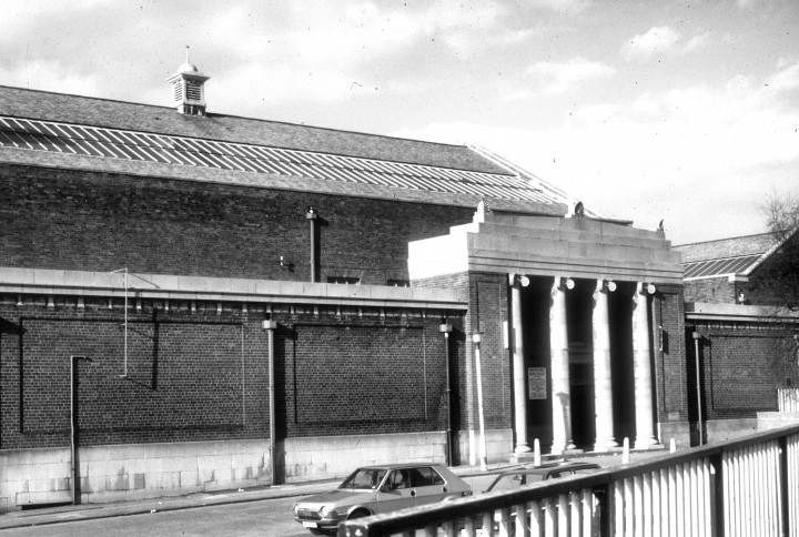 Saul Street Baths, Ringway, Preston 1987 Pic: Preston Historical Society
