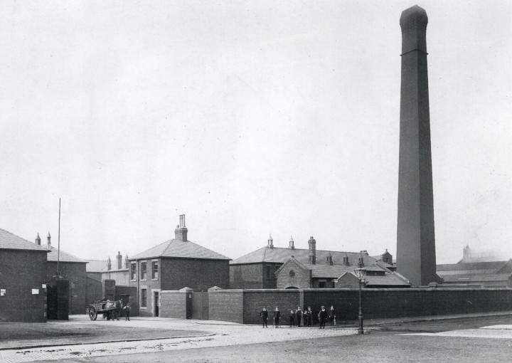 Preston Corporation Refuse Destructor, Argyll Road 1886