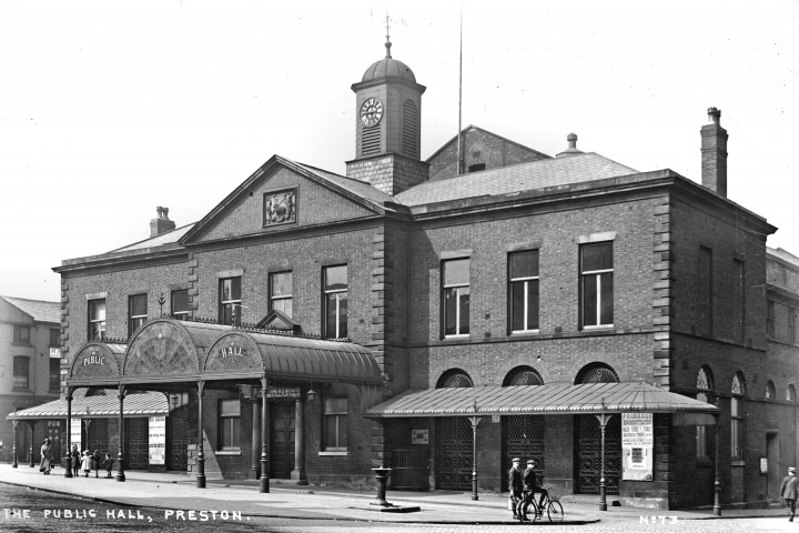 Public Hall, Lune Street, Preston c.1910 Pic: Preston Digital Archive