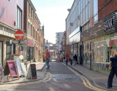 Cannon Street is to see work at its junction with Fishergate Pic: Tony Worrall
