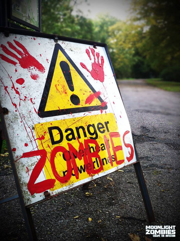 Preparations for previous Moonlight Zombies. Visit TerrorFest on Facebook for more.