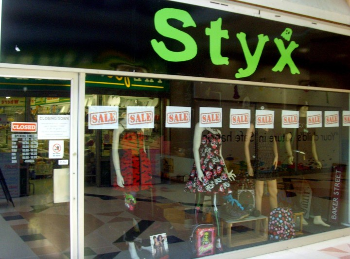 Fashion retailer Styx has also announced its closure Pic: Tony Worrall