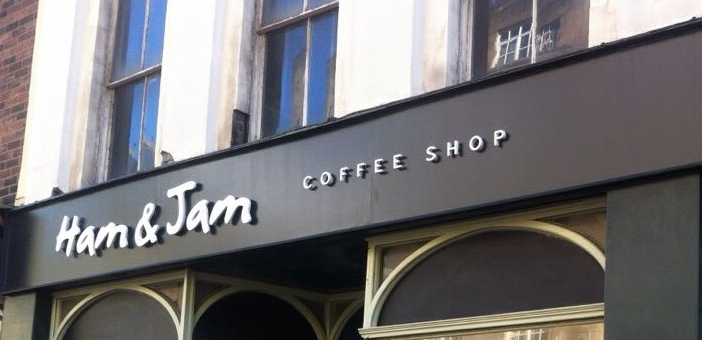 Ham & Jam Signage