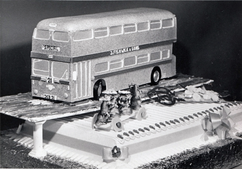 John Brindle's 21st Birthday Cake. Pic: Courtesy of John Fishwick and Sons