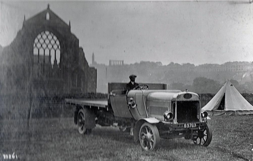 1914 in Edinburgh. Pic: Courtesy of John Fishwick and Sons