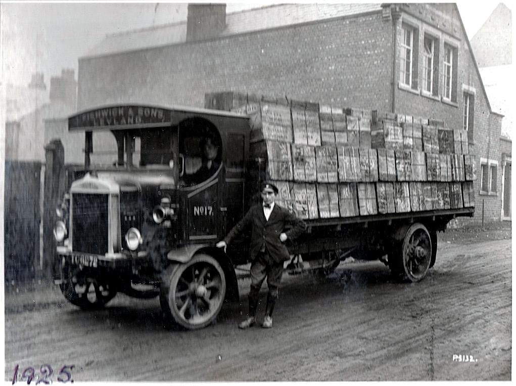 Haulage vehicle 1925. Pic: Courtesy of John Fishwick and Sons