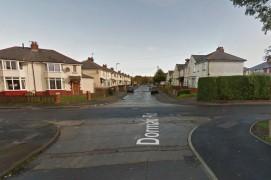 Dorman Road where the incident happened Pic: Google