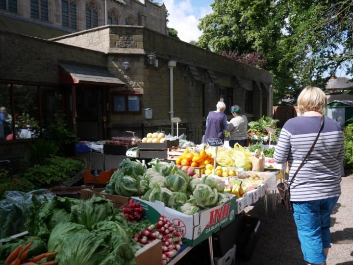 market veg stall