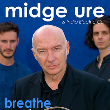 Midge Ure and folk duo India Electric Co. will perform at the Guild Hall this month