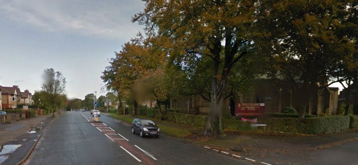 A section of Ribbleton Avenue is closed after the incident Pic: Google