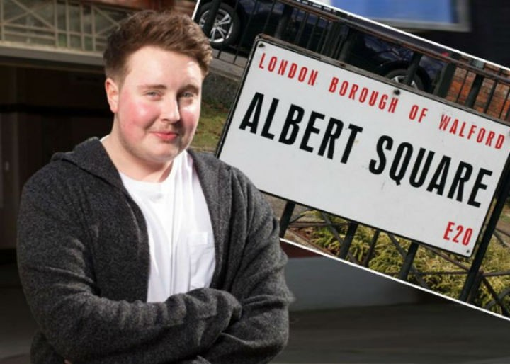 Riley is heading to Albert Square