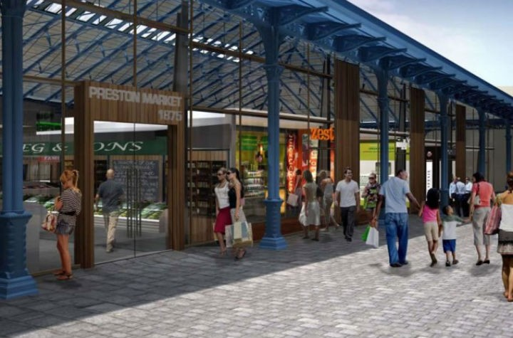 The original markets design in the Tithebarn scheme