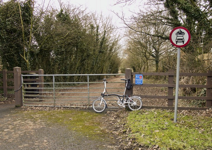 Where the Guild Wheel leaves D'Urton Lane Pic: Keith Sergeant