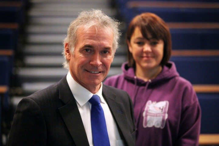 Dr HIlary Jones and Emma Wileman will visit Fulwood Academy