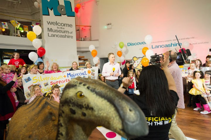 Museum of Lancashire appearing on Children In Need Pic: Lancashire County Council