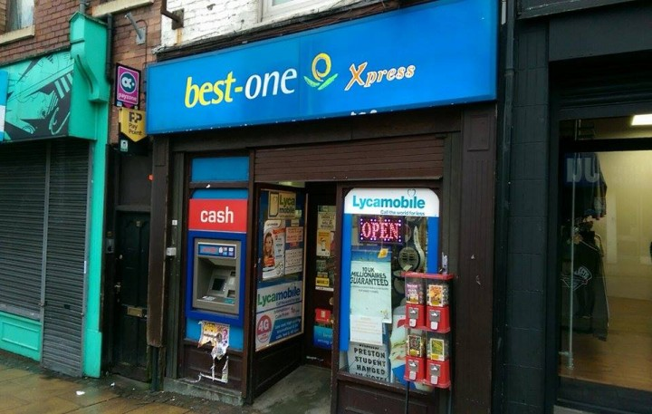 The Best One newsagents in Friargate