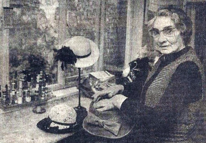 Edna Alice Deakin in 1983 just before her retirement. Pic: Lancashire Eveninig Post