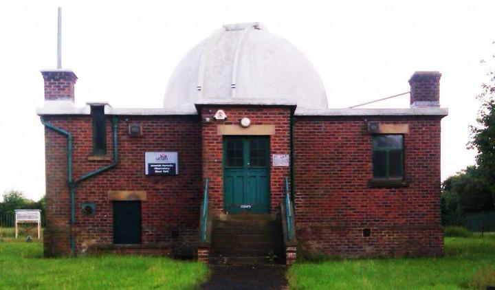 UCLan's Jeremiah Horrocks Observatory, Moor Park, Preston