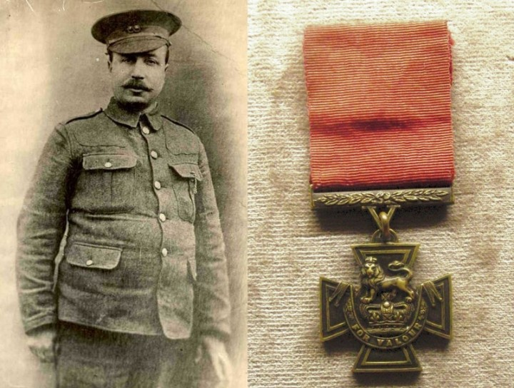 Private William Young and the Victoria Cross Medal