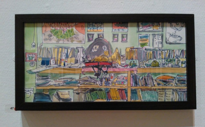 One of the pieces on display at the Harris, which has already been sold Pic: Joe Maclaren