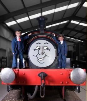 A friendly steam engine